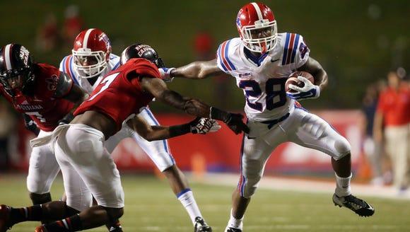 Louisiana Tech senior running back Kenneth Dixon was
