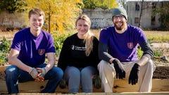 Medical students help revive Camden garden