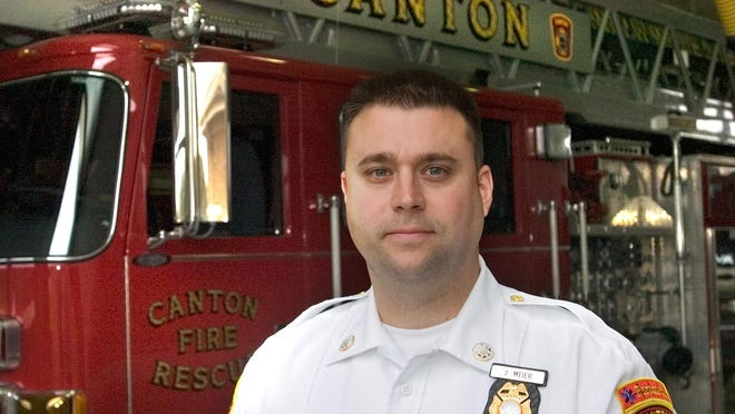 Joshua Meier was promoted from Canton Township Fire Chief to public safety director in 2016.