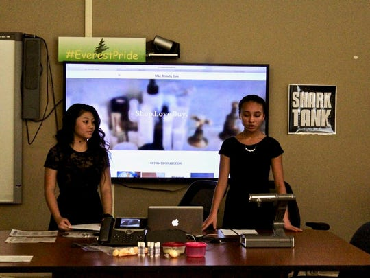 Tyanna Lo and Janessa Moua began making personal care products when they were 8 as gifts for family members.
