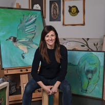 Reno artist Emily Reid finds inspiration in local fauna