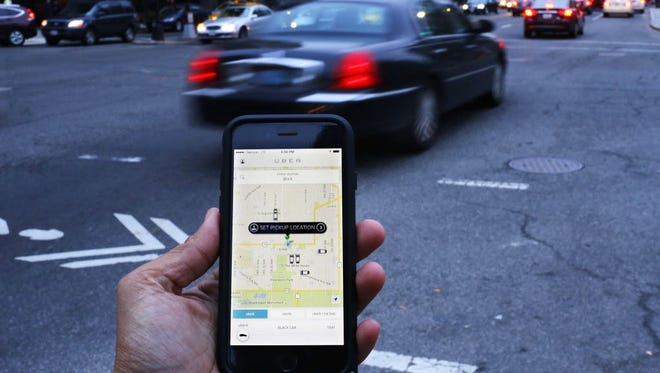 Uber hopes a new program targeting military families increases the number of veteran drivers.