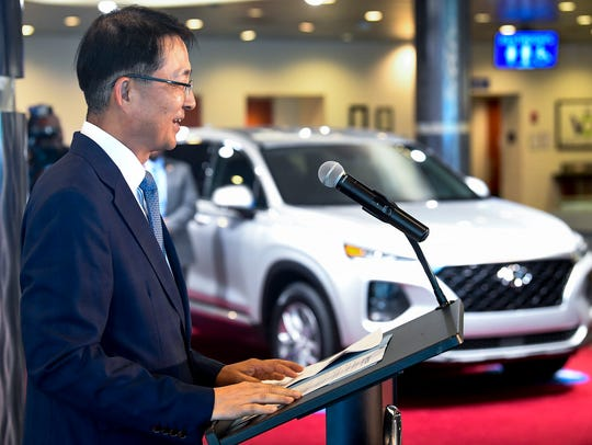 Hyundai Motor Manufacturaing Alabama President and