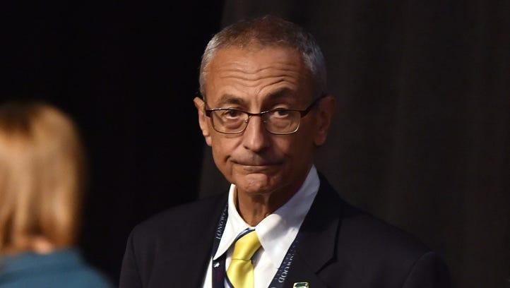 John Podesta, Hillary Clinton's campaign chairman,