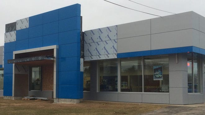 Krajnik Chevrolet in Two Rivers is undergoing a major renovation project slated to be completed in early May.