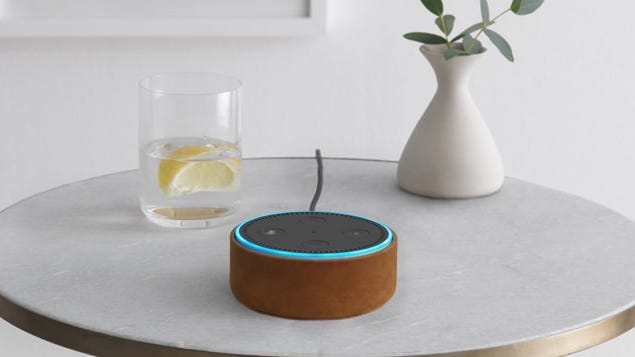 """The Echo Dot is still Amazon's """"Most Wished For"""" electronic."""