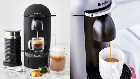 The Nespresso VertuoPlus by Breville brews some of the best coffee we've ever tasted.