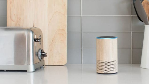 The Amazon Echo is a welcome addition in any kitchen.