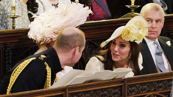 The duchess chatted with her husband Prince William