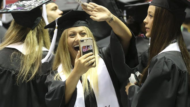 The University of Alabama held summer commencement Saturday, August 3, 2019 in Coleman Coliseum. This year's summer commencement will require masks and social distancing.