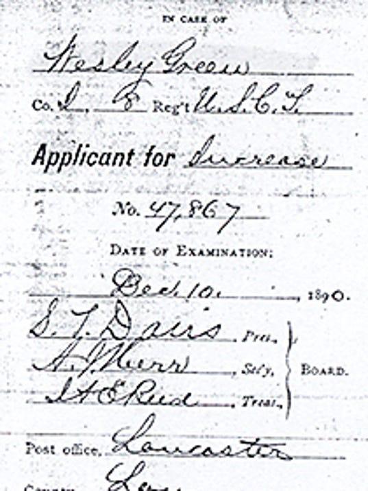 SUBMITTEDSurgeon's CertificateFor Jim's blog
