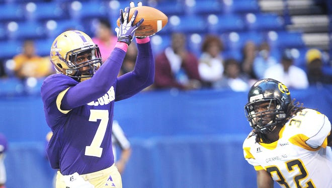 The annual Circle City Classic football game raises money for scholarships. In 2013,  Alcorn State played Grambling State.
