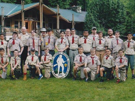BMN 073015 A3 Scouts celebrate
