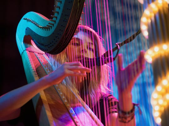 Harpist/vocalist Mikaela Davis headlines the Bug Jar's New Year's Eve show.