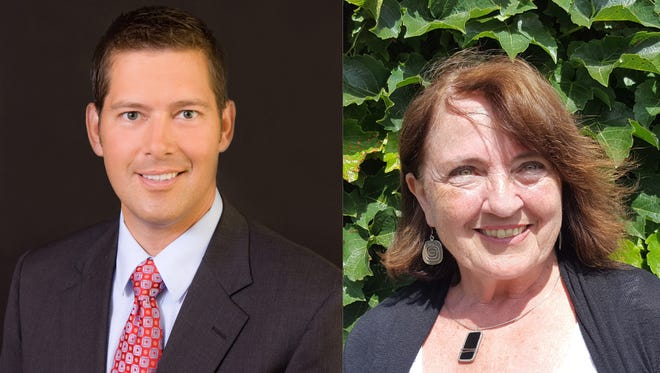 Republican Sean Duffy and Democrat Mary Hoeft
