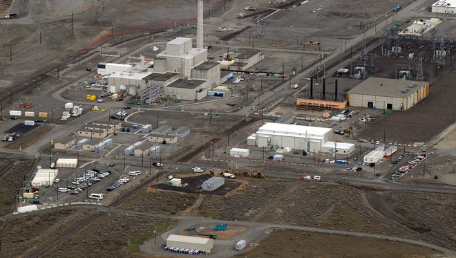 The decommissioned nuclear reactor at the Western hemisphere's most contaminated nuclear site in Hanford, Washington state on March 21, 2011.