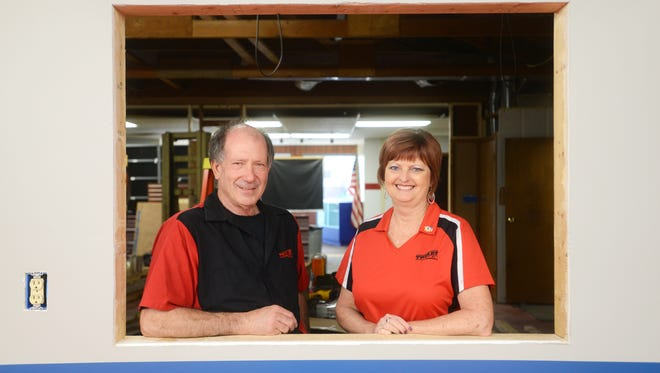 Rodney Crooks and his wife Mollie hope to open a new showroom and shop for Trikes By Rodney by the end of the summer. The building is on Linden Avenue.