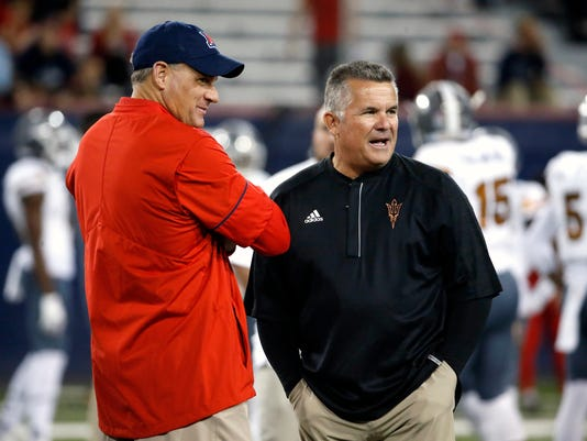 What Arizona State Arizona Assistant Football Coaches Are Paid