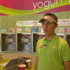 The owner of a Bearden frozen yogurt shop will give it to the disability advocacy group called Open Doors Tennessee.