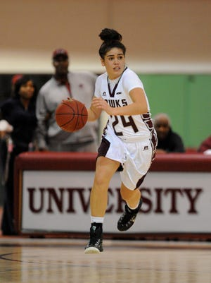 New Zealand's Moengaroa Subritzky fits right in with her University of Maryland Eastern Shore women's basketball teammates.