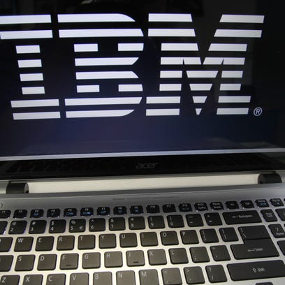 IBM reported Monday that its third-quarter earnings