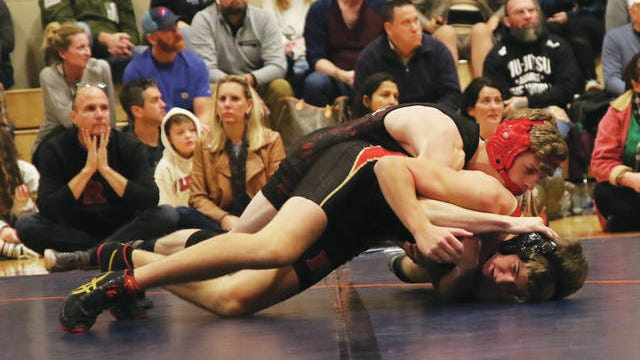 Spring Hill's Andrew Bramlett is focused on a top-four finish at this weekend's Region 7-AAA wrestling tournament at Antioch and an accompanying state tourney berth.