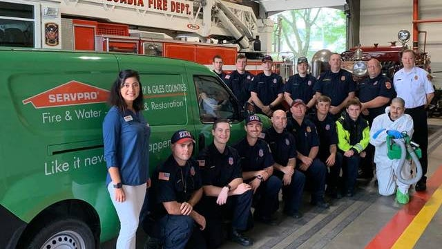 SERVPRO visits Columbia Fire & Rescue stations last week to clean and sanitize each facility. This provides a clean and safe work environment for CFR employees, as well as citizens.