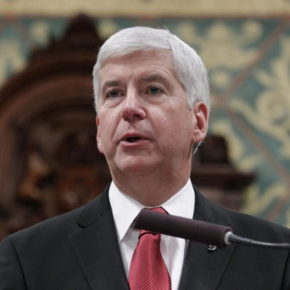 Gov. Rick Snyder has released some of his emails related to Flint's water emergency. But he refuses to release those from 2013.