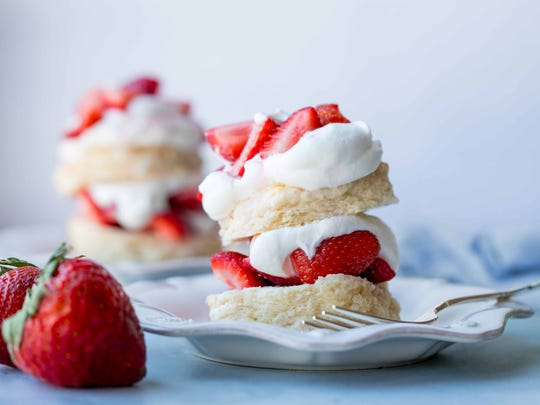 Cookbook author and creator Sally McKenney's easy strawberry
