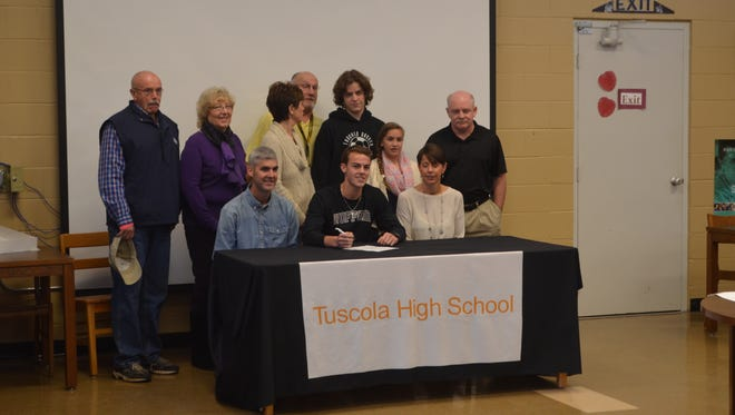 Tuscola senior Ben Nickol has signed to play college soccer for Wofford.