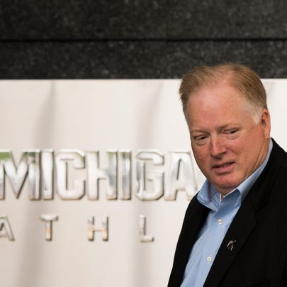 Michigan State University Athletic Director Bill Beekman,