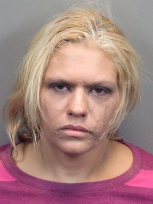 Tiffany Brooks, 34, of Vya, was arrested Monday on multiple counts of child neglect and animal abuse.