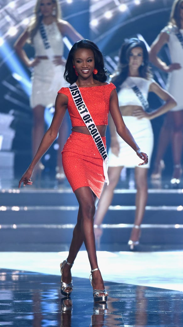 Miss District of Columbia USA 2016 Deshauna Barber