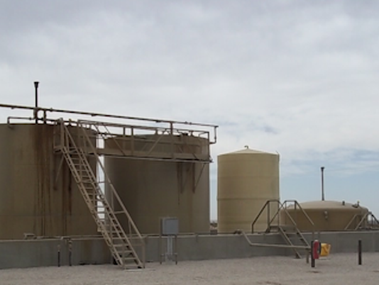 An Agave Energy gas gathering plant.