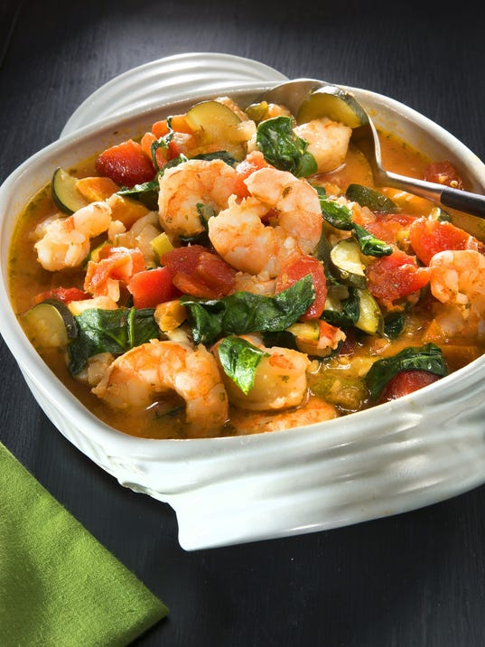 Easy Cioppino is a traditional San Francisco seafood stew