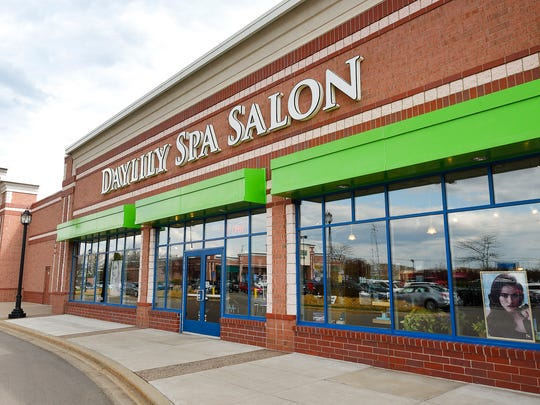 Daylily Spa Salon shown Thursday, May 4, in St. Cloud.