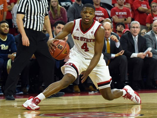 NCAA Basketball: Pittsburgh at North Carolina State