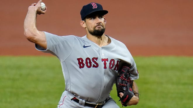 Red Sox starting pitcher Nathan Eovaldi will miss Wednesday's start against the Toronto Blue Jays.