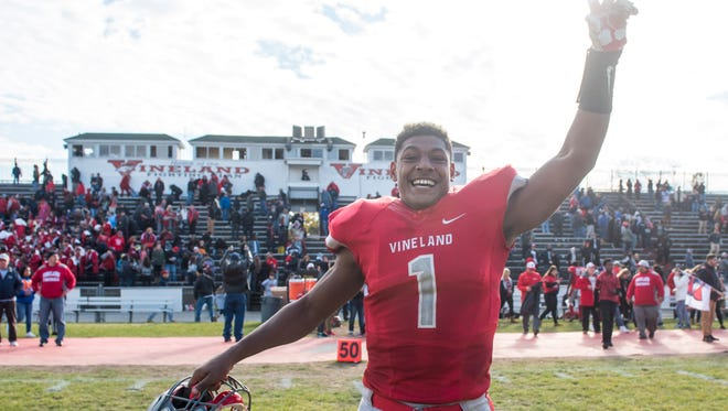 Vineland quarterback Isaih Pacheco is The Daily Journal Boys Athlete of the Year.