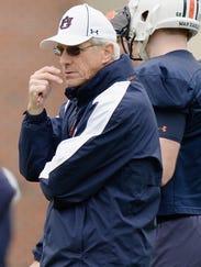 Auburn defensive coordinator Ellis Johnson said the