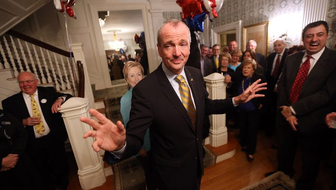 Democratic Party candidate for Governor and former U.S. ambassador to Germany, Phil Murphy gave the Keynote speech as the Morris County Democratic Committee presented a Fall Gala fundraiser at the home of Phillip and Barbara Sellinger in Morristown. October 5, 2016, Morristown, NJ