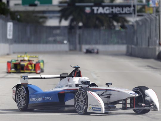 """Andretti Autosport CEO Michael Andretti sees electric racing series such as Formula E, which features open-wheel cars powered by batteries, as """"the future of racing. There is really a ton of interest."""""""