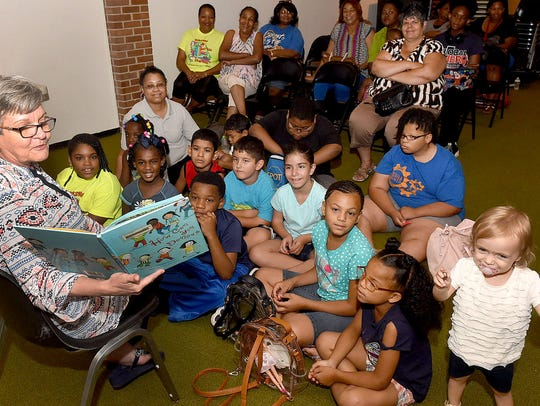 Storytime at the Opelousas Public Library