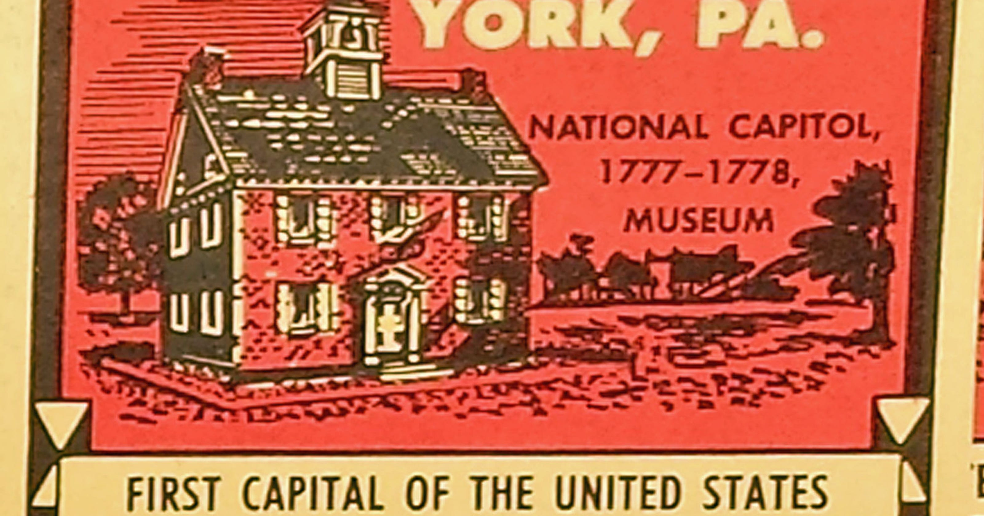 Whats This York The First Capital About
