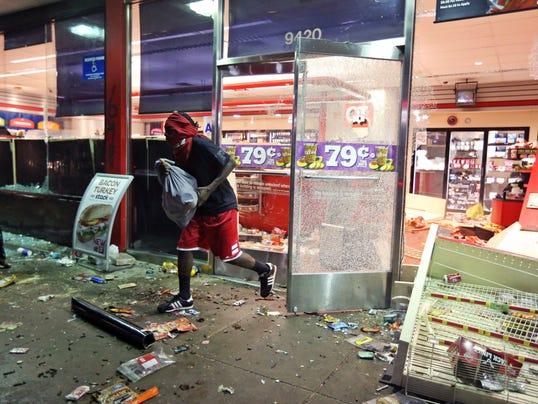 Missouri looting