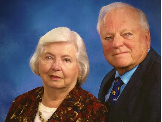 Charles (Chet) F. and Mary Jane Downs of York, PA (in