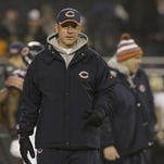 Aaron Kromer, shown Dec. 15, was the Chicago Bears' offensive coordinator before becoming the Buffalo Bills' offensive line coach this year.