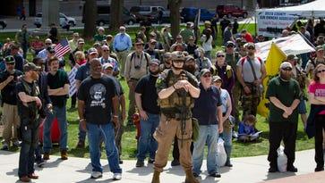 Gun-rights activists rally at Capitol