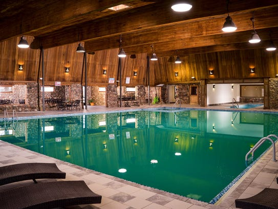 The Sleeping Buffalo Hot Springs is a big draw near