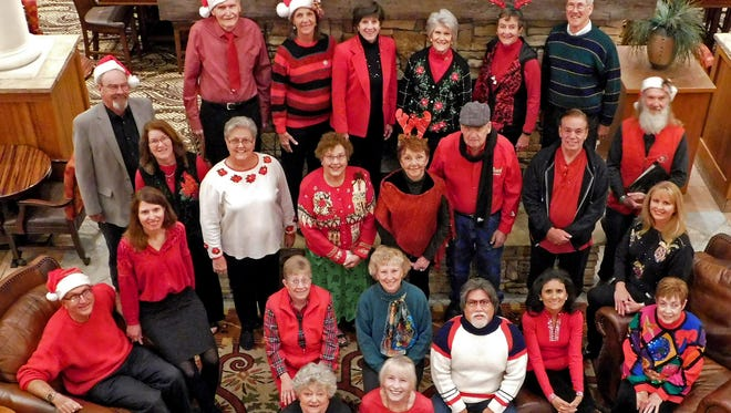 """Eastern New Mexico University-Ruidoso Community Choir's """"Christmas…by Request"""" concert will be 3 p.m., Sunday, Dec. 10, at the First Christian Church, 1211 Hull Road"""